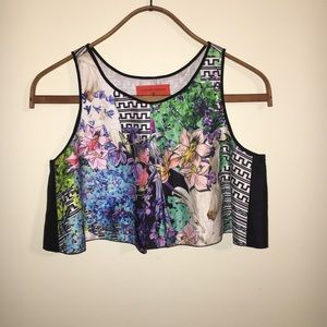 CLOVER CANYON | MEDIUM | CROP TOP | LIKE-NEW